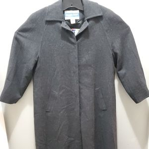 Pendleton Virgin Wool Trench Coat Women size 8 g19
